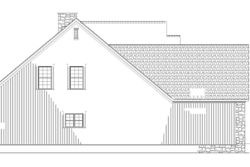 Traditional Exterior - Other Elevation Plan #17-2779 - Houseplans.com