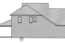 House Plan Design - Cottage Exterior - Other Elevation Plan #46-865