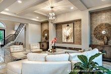 Dream House Plan - Mediterranean Interior - Family Room Plan #930-449