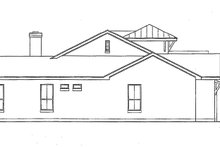 House Design - Mediterranean Exterior - Other Elevation Plan #472-353