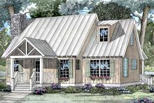 Home Plan - Craftsman Exterior - Front Elevation Plan #17-3046