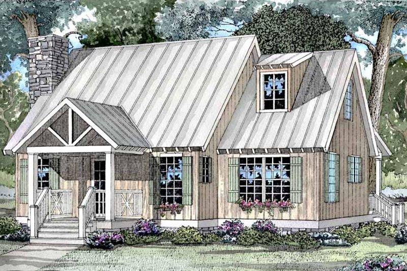 Craftsman Exterior - Front Elevation Plan #17-3046 - Houseplans.com