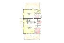 Colonial Floor Plan - Upper Floor Plan Plan #1053-38