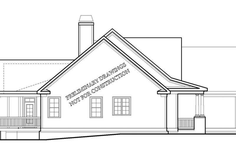 Traditional Exterior - Other Elevation Plan #927-968 - Houseplans.com