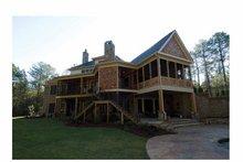 Architectural House Design - Craftsman Exterior - Rear Elevation Plan #54-362
