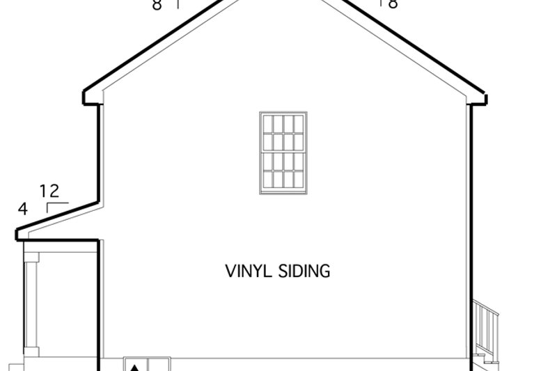 Country Exterior - Other Elevation Plan #1053-15 - Houseplans.com