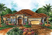 Home Plan - Contemporary Exterior - Front Elevation Plan #1017-20