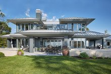 House Plan Design - Contemporary Exterior - Other Elevation Plan #928-291