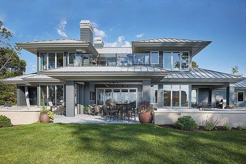 Contemporary Exterior - Other Elevation Plan #928-291 - Houseplans.com