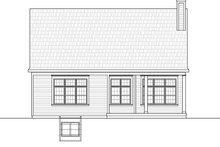 House Plan Design - Country Exterior - Rear Elevation Plan #20-2252