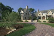 Country Style House Plan - 3 Beds 3 Baths 4703 Sq/Ft Plan #928-183 Exterior - Front Elevation