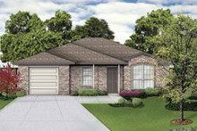 House Plan Design - Traditional Exterior - Front Elevation Plan #84-746