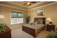 Dream House Plan - Country Interior - Master Bedroom Plan #938-1