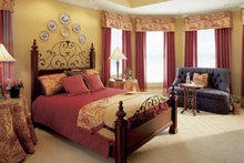 Country Interior - Master Bedroom Plan #927-855