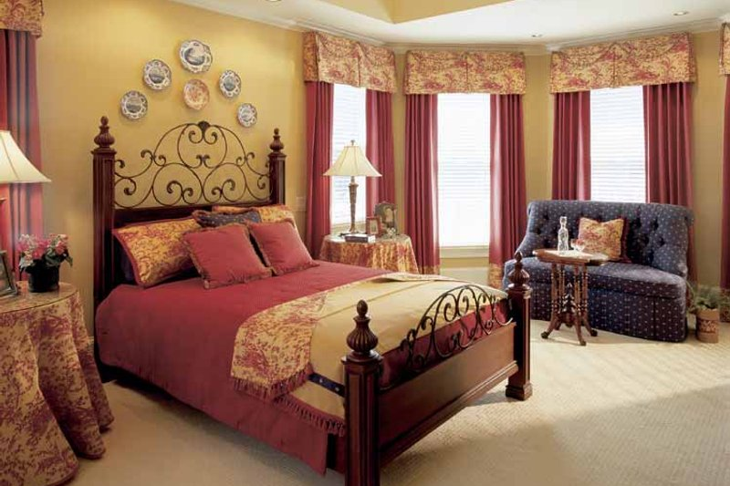 Country Interior - Master Bedroom Plan #927-855 - Houseplans.com