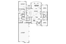 Country Floor Plan - Main Floor Plan Plan #17-3374