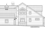 Traditional Style House Plan - 4 Beds 3.5 Baths 3677 Sq/Ft Plan #928-271 Exterior - Other Elevation