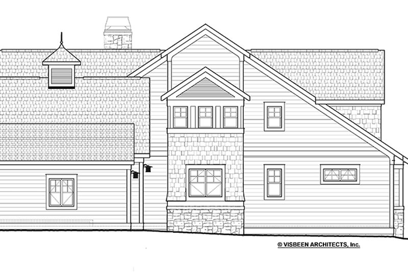 Traditional Exterior - Other Elevation Plan #928-271 - Houseplans.com