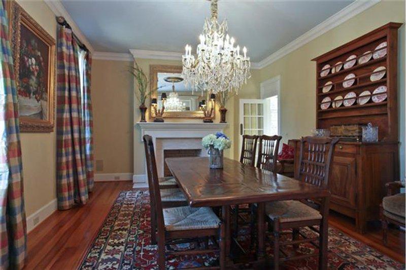 Classical Interior - Dining Room Plan #137-311 - Houseplans.com