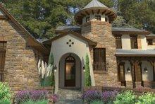 Cottage Exterior - Front Elevation Plan #120-244