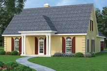 Home Plan - Traditional Exterior - Front Elevation Plan #45-490