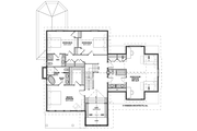 Traditional Style House Plan - 3 Beds 3.5 Baths 2895 Sq/Ft Plan #928-299 Floor Plan - Upper Floor Plan