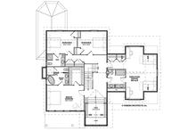 Traditional Floor Plan - Upper Floor Plan Plan #928-299