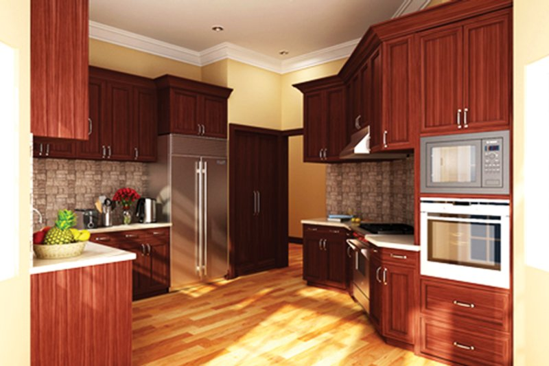 Ranch Interior - Kitchen Plan #314-292 - Houseplans.com