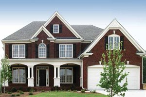 Home Plan - Traditional Exterior - Front Elevation Plan #54-229