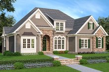 Country Exterior - Front Elevation Plan #927-547