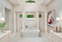 Dream House Plan - Country Interior - Master Bathroom Plan #1017-163