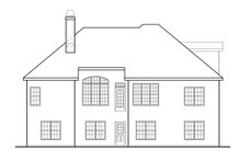 Craftsman Exterior - Rear Elevation Plan #927-566