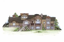House Plan Design - Craftsman Exterior - Front Elevation Plan #945-112