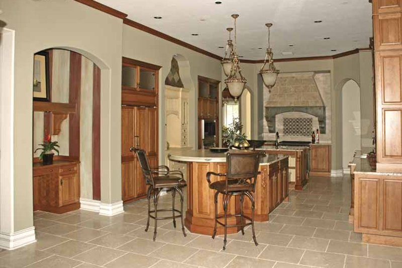 Country Interior - Kitchen Plan #1019-9 - Houseplans.com
