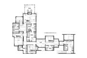 Craftsman Style House Plan - 4 Beds 3.5 Baths 4038 Sq/Ft Plan #928-185 Floor Plan - Upper Floor