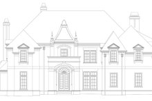 European Exterior - Front Elevation Plan #119-419