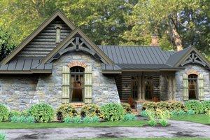 Dream House Plan - Bungalow Exterior - Front Elevation Plan #120-245