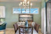 Mediterranean Style House Plan - 3 Beds 3 Baths 3083 Sq/Ft Plan #930-448 Interior - Dining Room