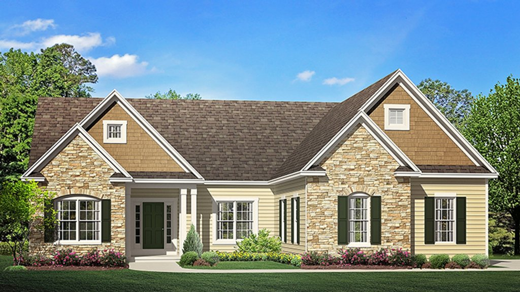 Ranch style house plan 3 beds 2 5 baths 1943 sq ft plan for Weinmaster house plans