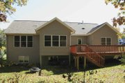 Craftsman Style House Plan - 3 Beds 3 Baths 2484 Sq/Ft Plan #928-120 Exterior - Rear Elevation