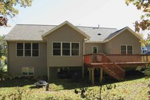 Architectural House Design - Craftsman Exterior - Rear Elevation Plan #928-120