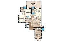 Country Floor Plan - Upper Floor Plan Plan #1017-157