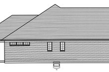 Architectural House Design - Colonial Exterior - Other Elevation Plan #46-866