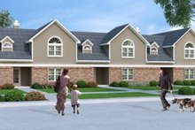 Traditional Exterior - Front Elevation Plan #45-452