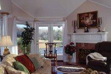 Victorian Interior - Family Room Plan #314-206