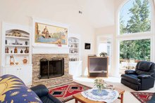 House Plan Design - Country Interior - Family Room Plan #927-67
