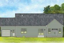 House Plan Design - Ranch Exterior - Rear Elevation Plan #1010-183