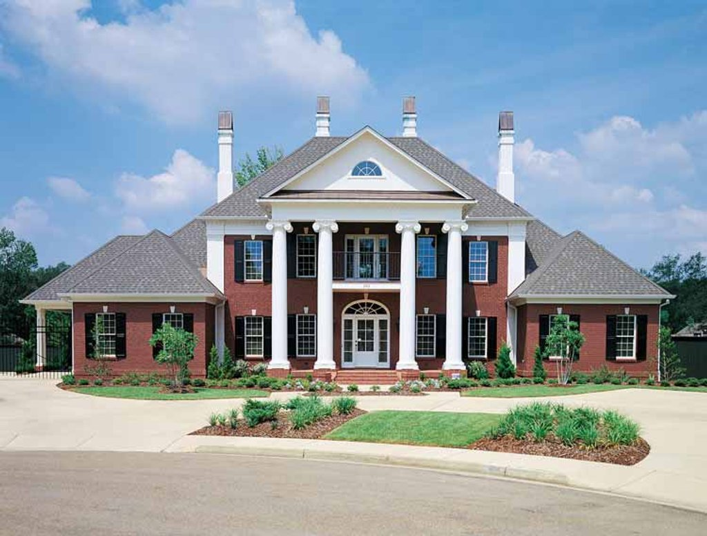 Classical style house plan 4 beds 4 baths 4242 sq ft for Www eplans