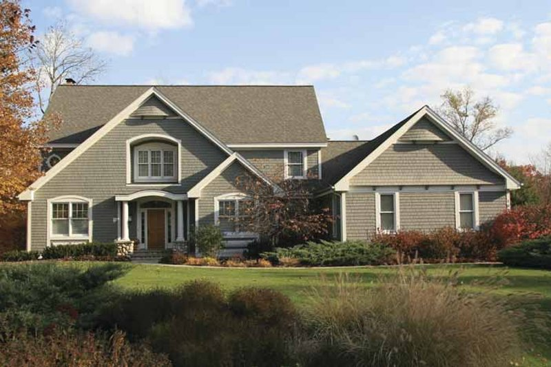Craftsman Exterior - Front Elevation Plan #928-94