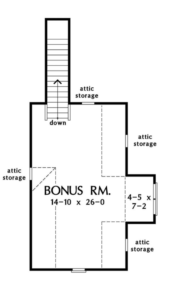 Country Floor Plan - Other Floor Plan #929-969